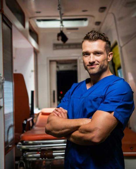 Emergency Medical Services ParamedicMan