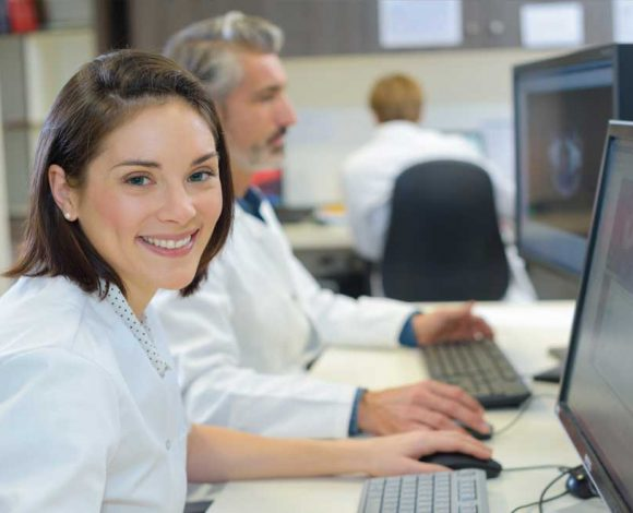 Health Information Technology Woman