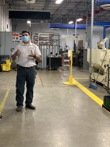 Isaac Gonzalez Photo 225x300 - TSTC instructor equips students for in-demand careers in machining