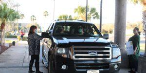 Grad Swag Pickup 300x150 - TSTC December grads celebrated with drive-thru ceremony