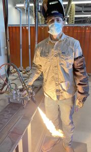 quincy butler web 180x300 - TSTC student wants to travel country as welder