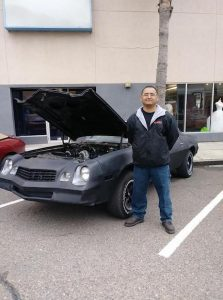 Diego Trevino 223x300 - Instructor's passion for cars guided him to TSTC