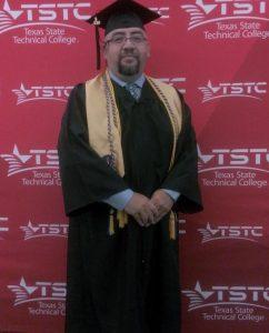 Luis Landeros Image 242x300 - After 20 years in the workforce, TSTC graduate decides to return to school