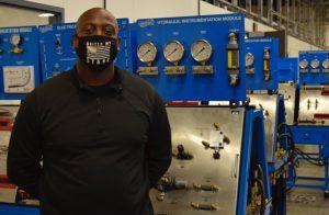 8 Feb. 2021 North Texas Industrial Systems Jarreit Durham 300x196 - TSTC graduate returns to teach in the Industrial Systems program