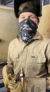 caden amos web 165x300 - Amos enjoys challenges of TSTC's Welding Technology