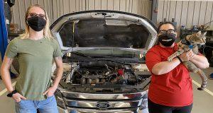 female auto web 300x160 - Female TSTC Automotive Technology students building confidence