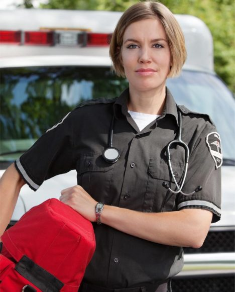 Allied Health ParamedicWoman