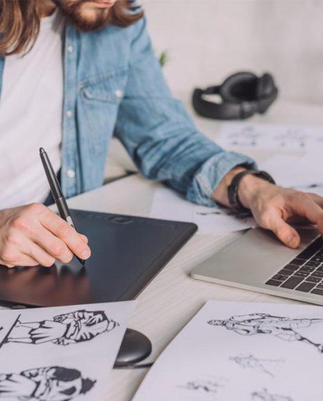 Graphic Design PainterMan