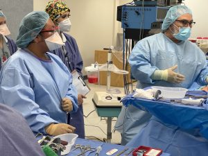 Mock Surgery 300x225 - TSTC Surgical Technology students gain hands-on training via mock surgery