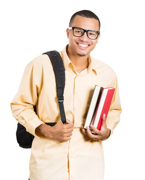 Camp - Smiling Student Holding Books
