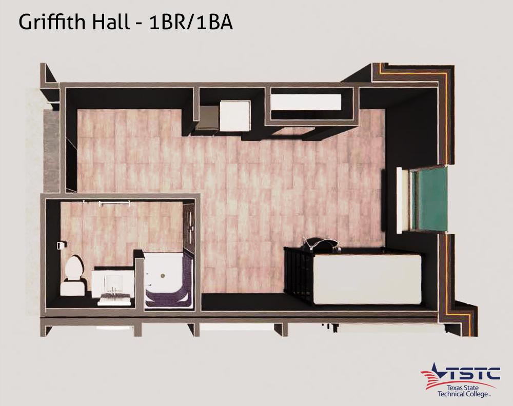 GH 1BR 1BA - Griffith Hall