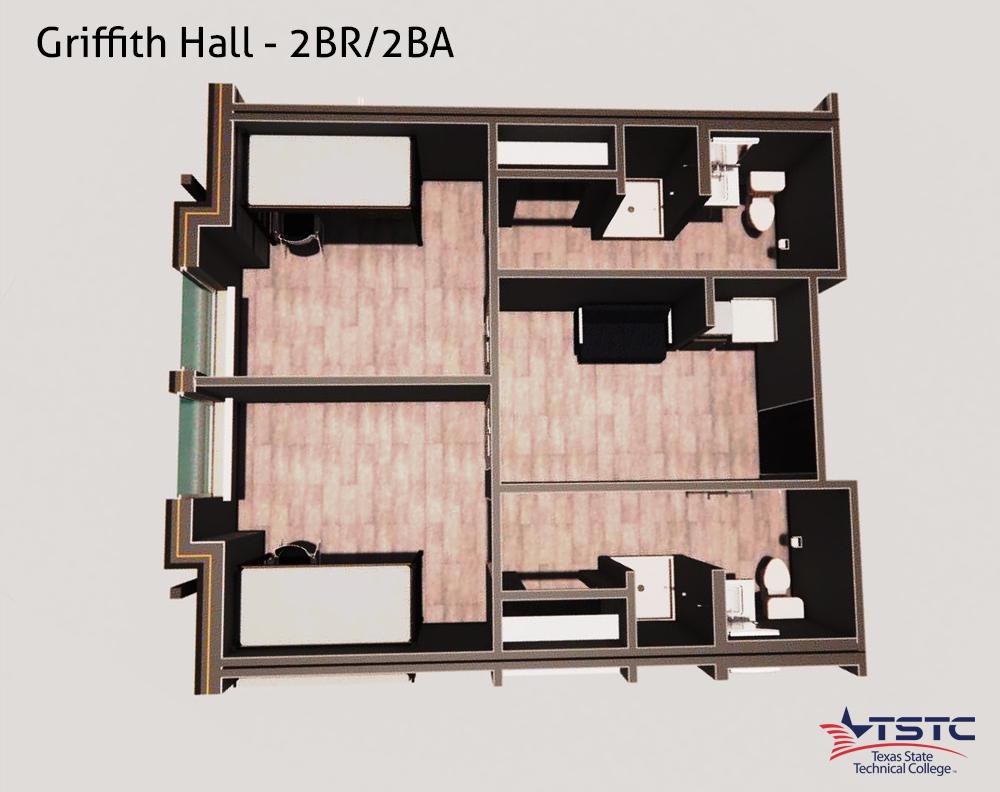 GH 2BR 2BA - Griffith Hall