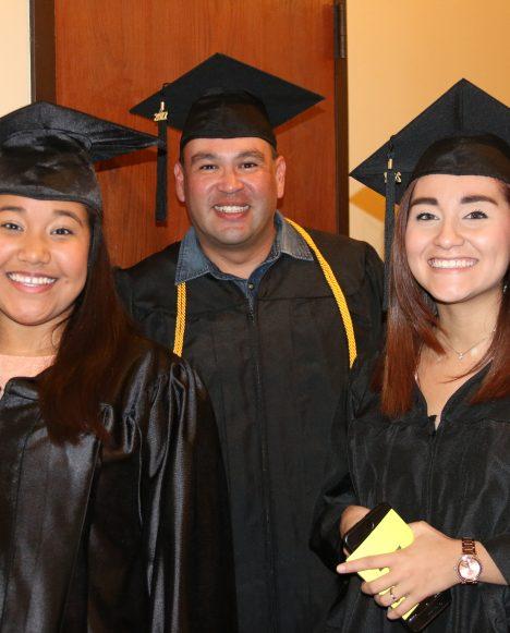 hispanic students at graduation