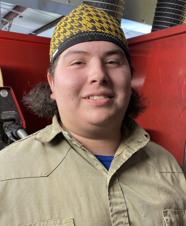 Isaiah flores 372x451 - Flores experiences college life while training for career
