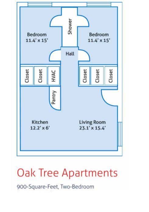 Oak Tree Apartments - Campus Housing