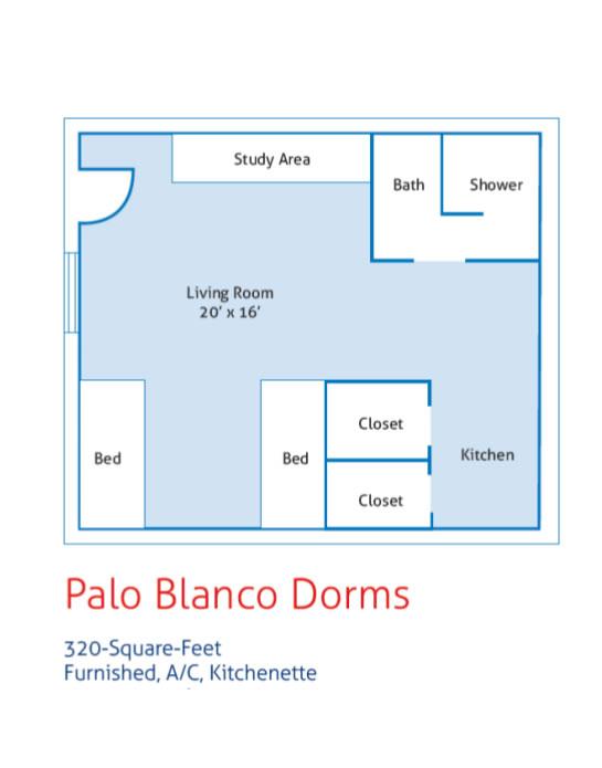 Palo Blanco Dorms - Campus Housing