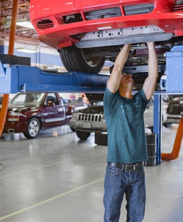 automotive technology 372x451 - TSTC fills state's need for automotive technicians