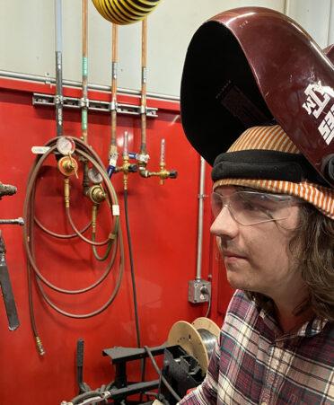 lucas robirds 372x451 - Texas A&M student spends summer welding at TSTC