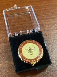 RN pin 225x300 - Forgoing pinning ceremonies, TSTC allied health graduates look toward futures