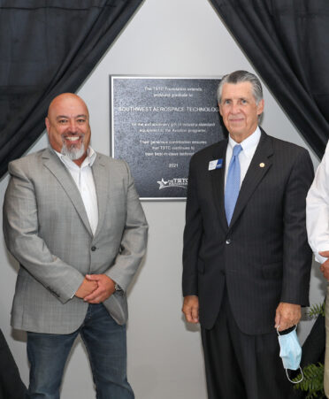Waco The TSTC Foundation plaque unveiling