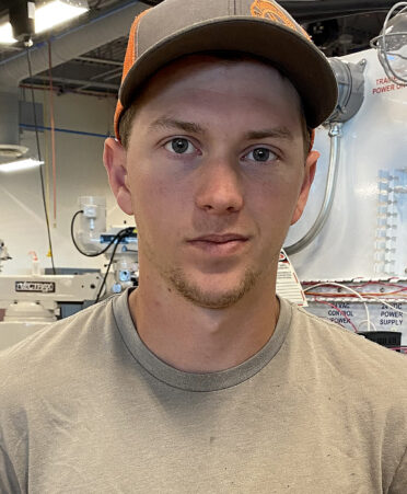 levi taylor 372x451 - Taylor taps into new skills while studying Industrial Systems at TSTC