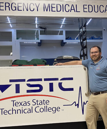 tim scalley 372x451 - Scalley uses experience to teach TSTC Emergency Medical Services students