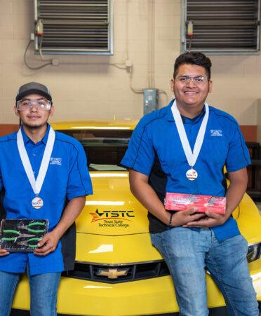 TSTC Harlingen automotive students SkillsUSA