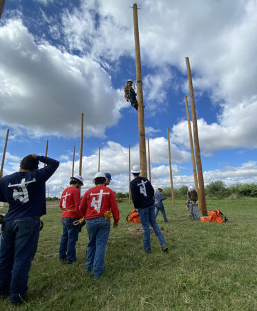TSTC lineworker equipment day Fort Bend County