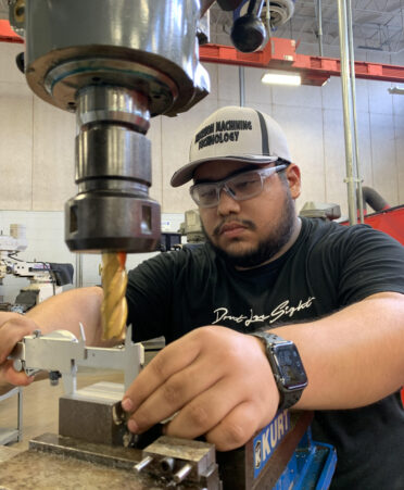 Machining 372x451 - TSTC's Precision Machining Technology prepares students for in-demand careers