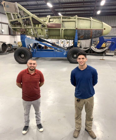 X 38 Spacecraft 372x451 - Spacecraft donation brings exciting project to TSTC's Aircraft Airframe program